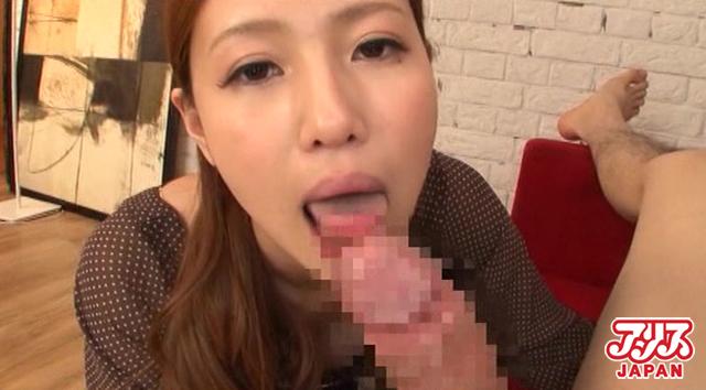 【エロ動画】いやらしい接吻と交尾 前原友紀の画像