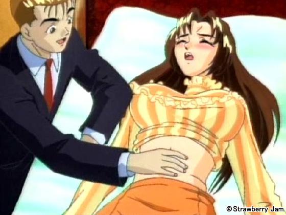 【二次エロ】肉欲遊戯〜玩具にされた少女たち〜 シーン3【アニメ】のエロ画像1枚目