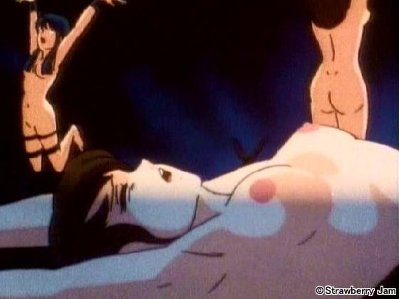 【二次エロ】肉欲遊戯〜玩具にされた少女たち〜 シーン2【アニメ】のエロ画像1枚目