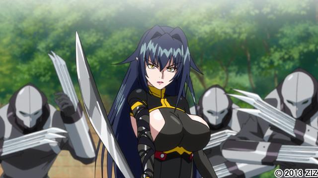 【二次エロ】鋼鉄の魔女アンネローゼ 02 窮地の魔女:Witchlost【アニメ】のエロ画像1枚目