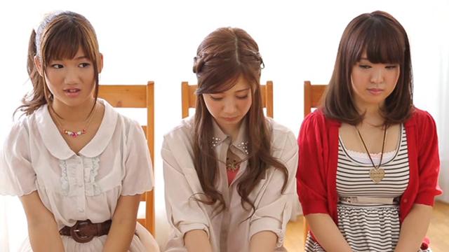 エロ動画、18歳限定3人同時にAV DEBUT!!の表紙画像