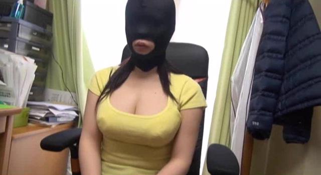【エロ動画】素人マスク性欲処理マゾメスのエロ画像1枚目