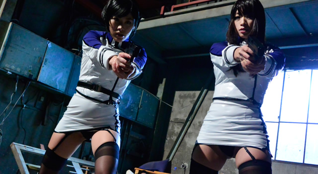 【エロ動画】実写版 監獄戦艦 小早川怜子 春原未来のエロ画像1枚目