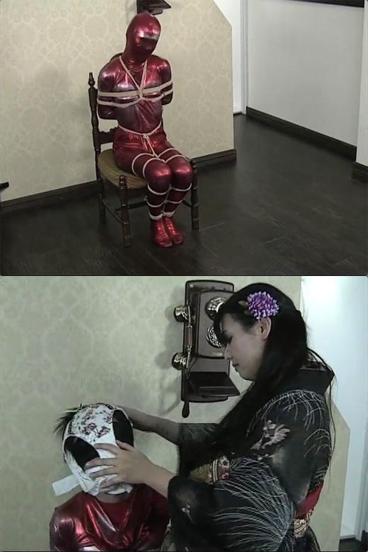 【女王様】花魁の玩具奴隷〜パンティ猿轡責め〜【厳重猿轡】