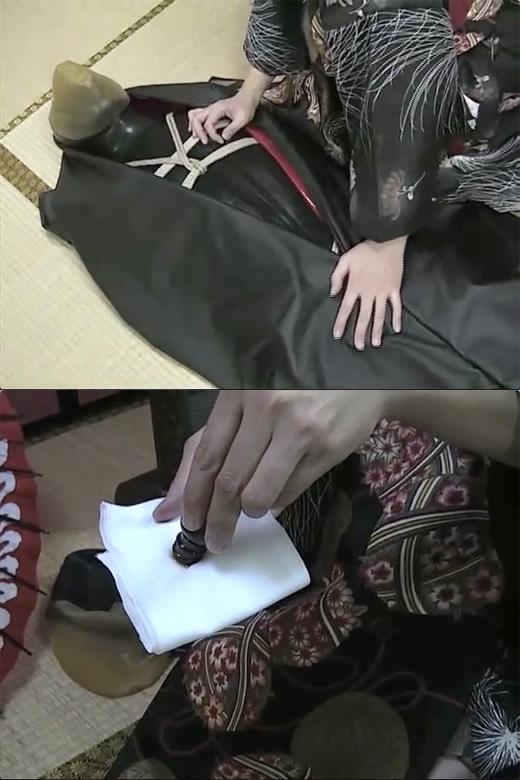 【女王様】花魁の玩具奴隷〜袋詰め窒息責め〜【呼吸制御】