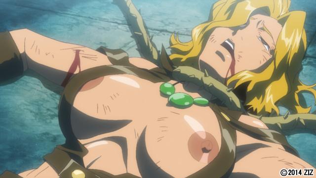 【二次エロ】鋼鉄の魔女アンネローゼ 03 魔女の懲罰:Witchpunish【アニメ】のエロ画像1枚目