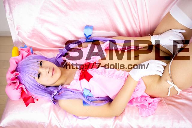 19歳黒髪ぱっつんパイパン美少女レイヤー 03パチュリー