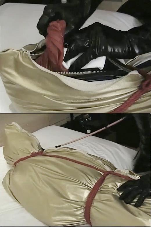 【女王様】多重袋詰め拘束 -窒息責め-【呼吸制御】