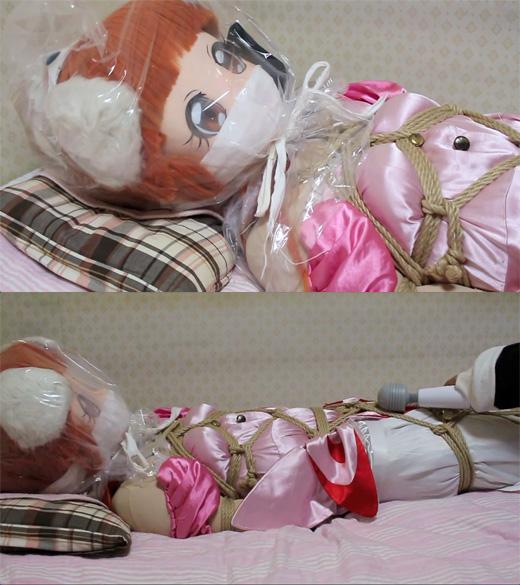 【着ぐるみ】お姫様を縛っちゃおう♪〜上半身編〜【呼吸制御】