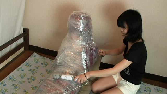 Private Doll TS 2 (着ぐるみぐるぐるラップ巻き!)