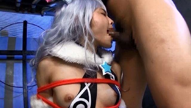 コスプレ美少女にザーメン大量ぶっかけ77発 4時間
