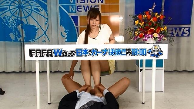 新人アナウンサー 浅倉領花 ぶっかけ・潮吹き実況ナマ中継!
