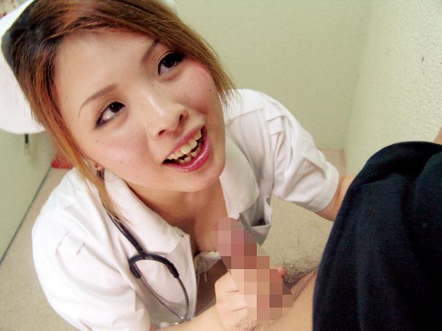 「入院中なのに元気ですね!?」清楚なフリした現役ナースはイケメン患者のチ◯ポハンター