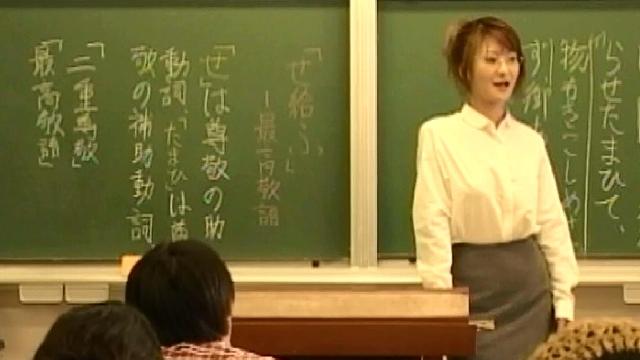 女教師ベスト3連発! 教室で濡れる牝教師