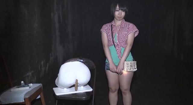【エロ動画】全身アナル 桜夜まよい 肛門絶頂IN廃墟のエロ画像1枚目