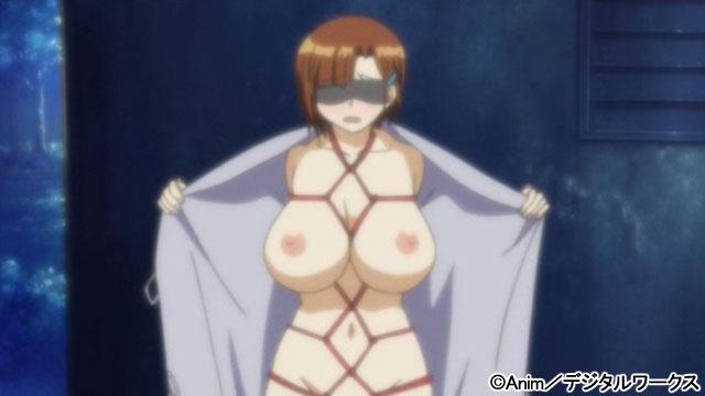 【二次エロ】人妻交姦日記 後編【アニメ】のエロ画像1枚目