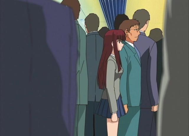 【二次エロ】駿河理香子 集団痴漢電車【アニメ】のエロ画像1枚目
