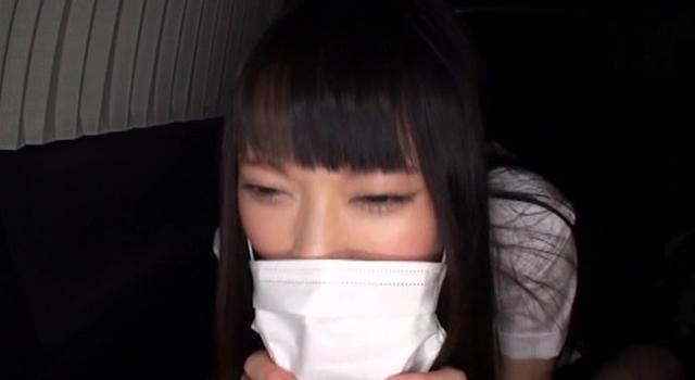 【エロ動画】天使の援交 顔バレ無理だよ!JKマスクしたままフェラバイト|かわいいは正義である
