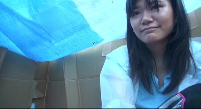 【エロ動画】本物ホームレス少女|かわいいは正義である