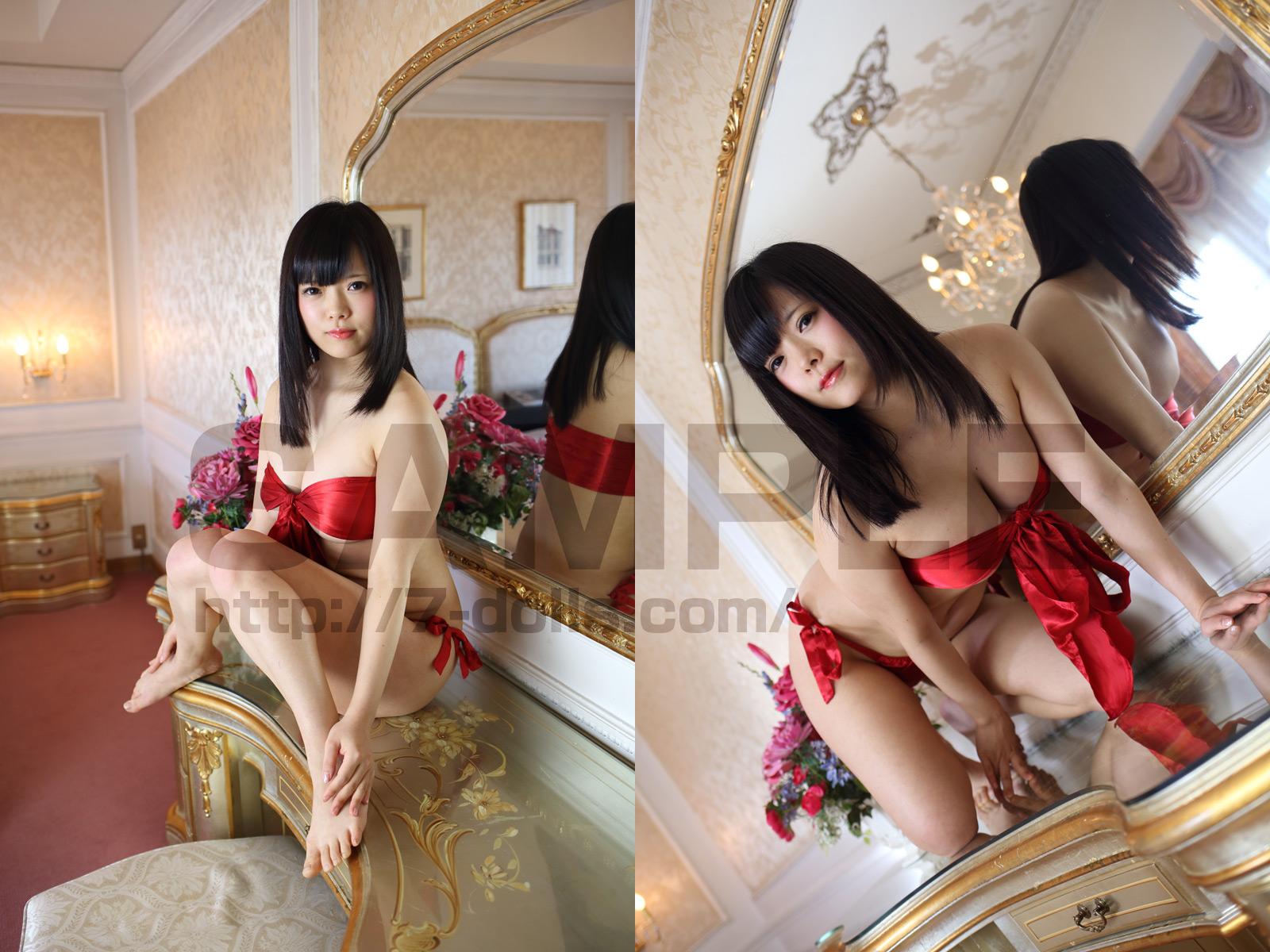 Gカップ黒髪ぱっつん美少女レイヤー18裸りぼんちゃん