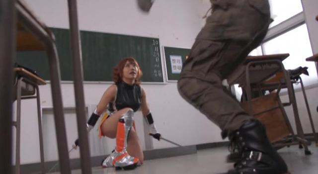 エロ動画、対魔忍さくら ANOTHER STORY 〜学園に潜む魔物たち〜 松本メイの表紙画像
