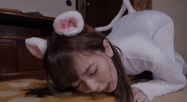 エロ動画、もしも波多野結衣がビッチで発情中のネコだったらの表紙画像