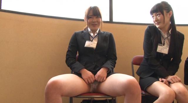 【エロ動画】2015年SOD女子社員 内定者 性感度健診!!