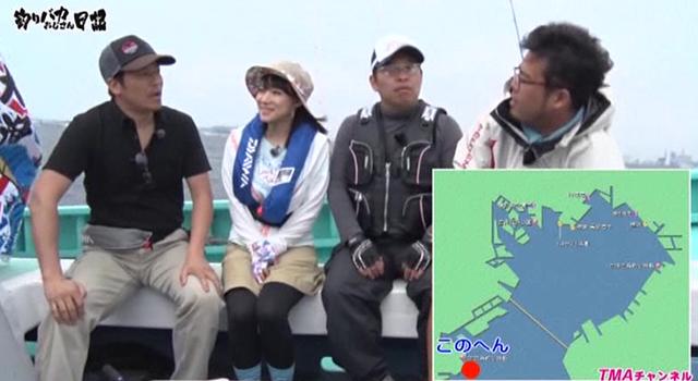 釣りバカおじさん日記 〜マドンナ澁谷果歩ちゃんとアジ釣りチャレンジ!!〜