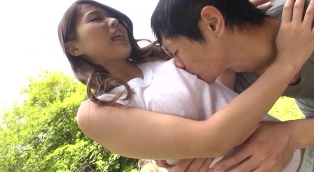 【エロ動画】乳首ピンコ勃ち★ノーブラニット人妻中出しナンパ!!|這いよれ!スリラー女子さん-エロ動画-