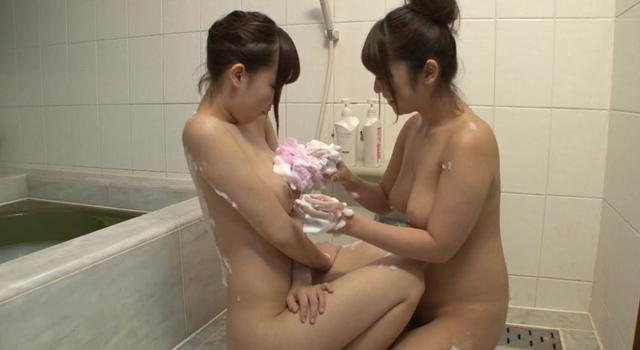 エロ動画、憧れ@美巨乳姉妹百合 尾上若葉・森はるらの表紙画像