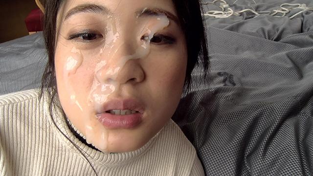 顔汚し・一発顔射/うさペット「るな」