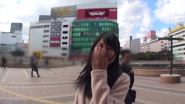 【エロ動画】逆ナンパ あおいれな in仙台|このあと無茶苦茶オナニーした。
