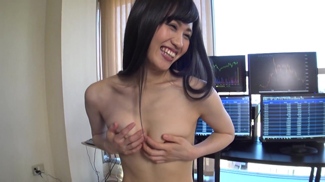 【エロ動画】5年間で●億円稼いだ奇跡の美人デイトレーダーAV出演! ゆいさん