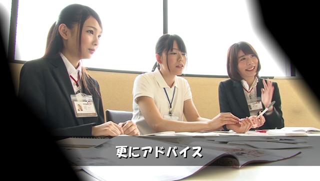【エロ動画】仕事熱心と社内で評判のSOD女子社員6名を選抜!マジックミラー号 一般男性逆ナンパ研修 普段は真面目で仕事一辺倒な彼女達がオチンチンを目の前に興味津々…のエロ画像1枚目