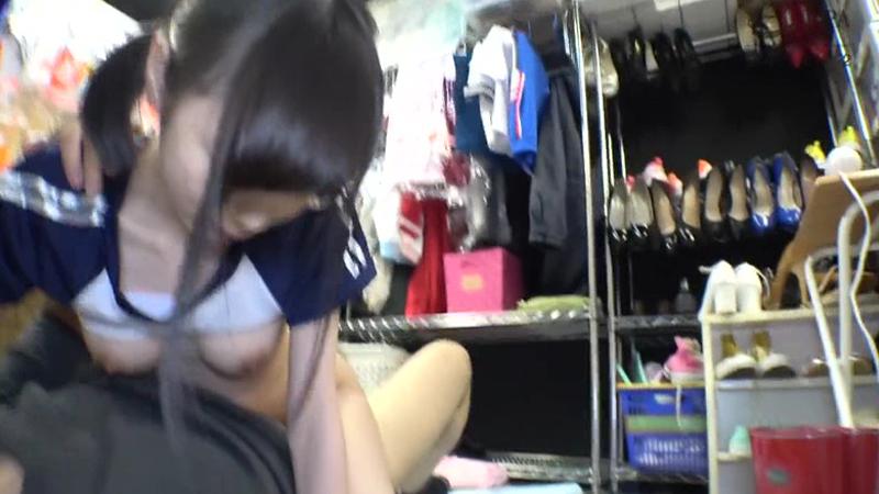 [閉店セール]ブルセラ店に訪れたJKたちのエロ動画☆無許可発売 諭吉かざして少女ホイホイ 4名出演