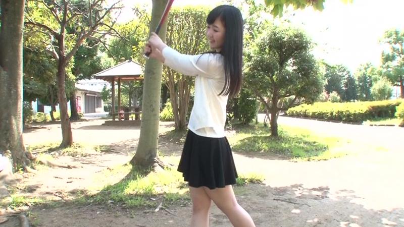 白球に青春をかけた神スイング少女は…男性経験ゼロのガチ処女でした。ゆい19歳、本日一本限りのAV出演!!