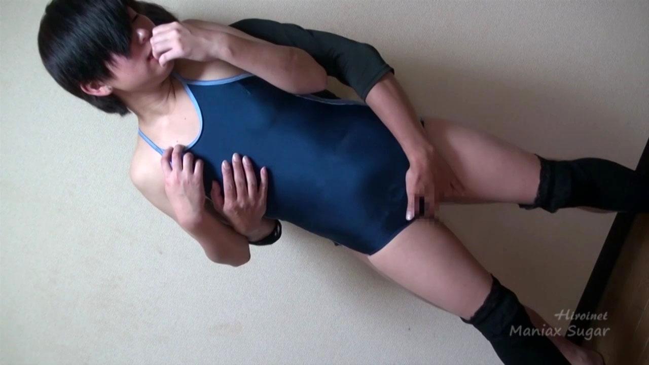 スク水股座ぐり臀部