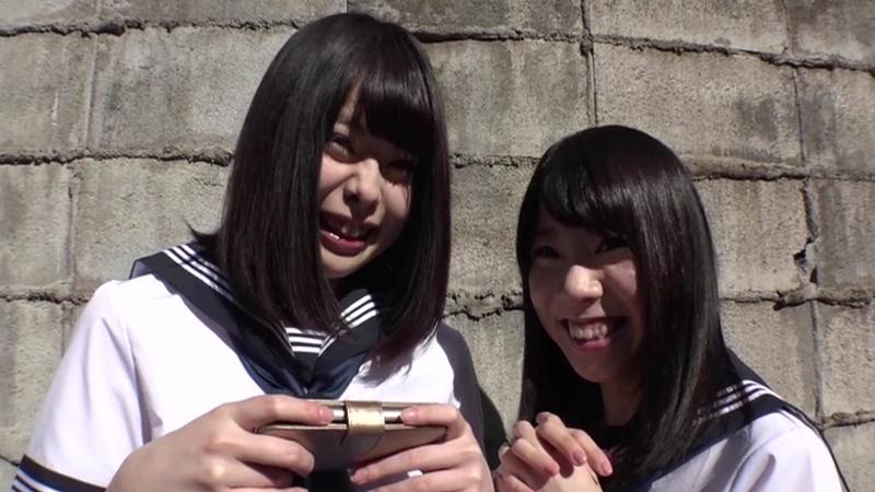 歌舞伎町で有名なマブダチ女子校生2人組との破廉恥ビデオ 155cmゆーたん 145cmちーちゃん #どちらも神貧乳