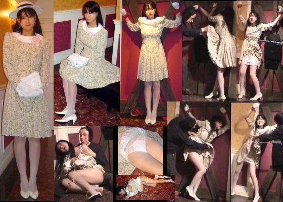 【お嬢様エロ画像】ターゲットはお嬢様 令嬢陵辱