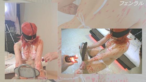 コスプレイヤー緊縛調教4 真〇ちゃんレイヤーさんを椅子に緊縛拘束してから猿轡と鼻フックを装着して徹底蝋燭責め!【マニア向け】