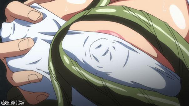 【二次エロ】魔界騎士イングリッド episode02 ムラサキ被虐【アニメ】のエロ画像1枚目