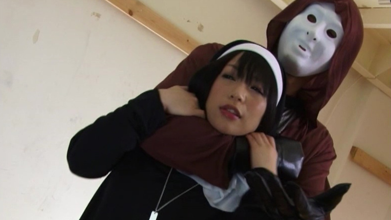 仮面シスター マリア ヌルヌル詰問