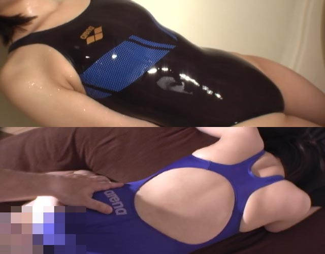 ハイレグ競泳水着・フェチ凌辱動画2 究極競泳水着! X−FLAT