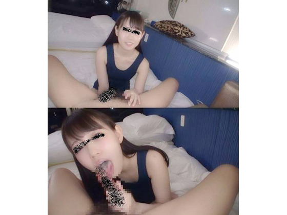 ◆スク水×美少女のチロレロ舐めフェラがうまいんです【個人撮影】のタイトル画像
