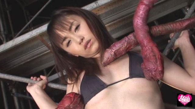 エロ動画、触手ウィルス 森崎愛の表紙画像