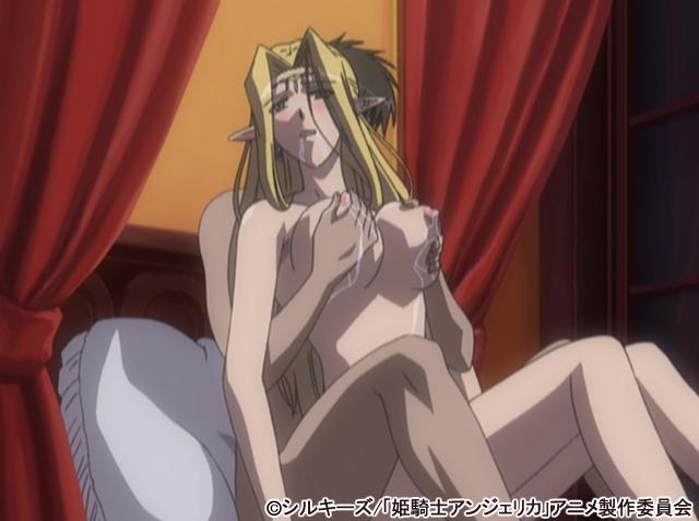 【二次エロ】姫騎士アンジェリカ 第2夜 〜復讐のセラフィーナ〜【アニメ】のエロ画像1枚目