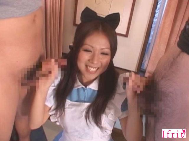 【エロ動画】エロエロメイドカフェの面接 Vol.2〜メイド服に憧れて来た女の子たち〜