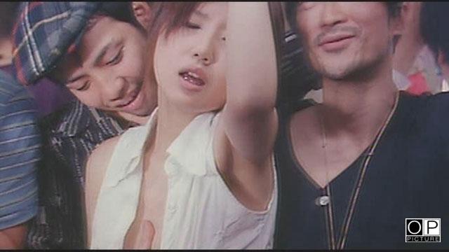 エロ動画、痴漢電車 ゆれて密着お尻愛の表紙画像