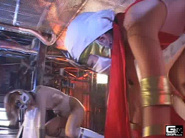 【エロ動画】スーパーヒロイン激突! 2のエロ画像1枚目