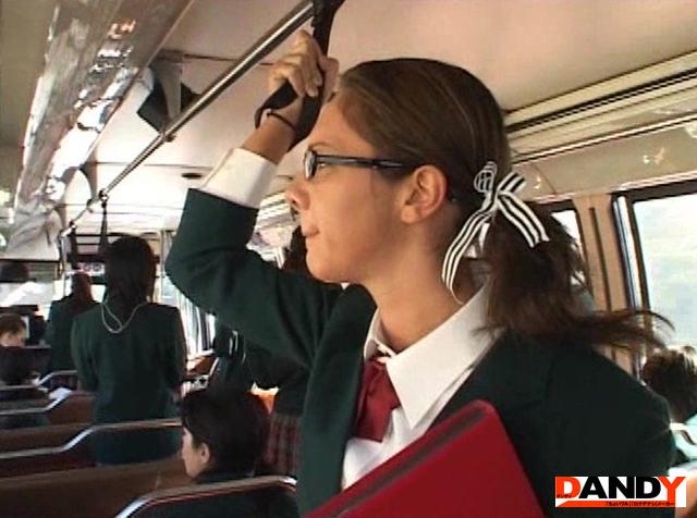 エロ動画、「間違えたフリしてINTERNATIONAL黒髪ハイスクールバスに乗り込んでヤられた」 VOL.2の表紙画像